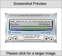 Ease MP3 Recorder Product
